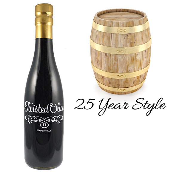 25 Year Style-Twisted Aged Balsamic Vinegar - 12.7oz