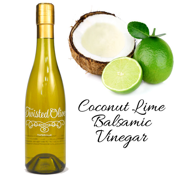 White Coconut Lime Balsamic Vinegar - 12.7oz