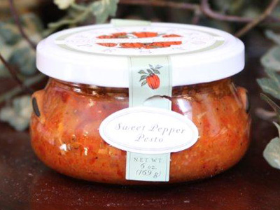 Sweet Red Pepper Pesto, 6-ounce jar