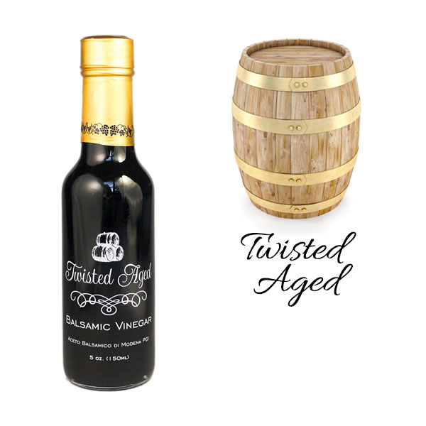 25 Year Style-Twisted Aged Balsamic Vinegar - 5oz